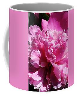 Brillant Pink Peony Coffee Mug by Bruce Bley