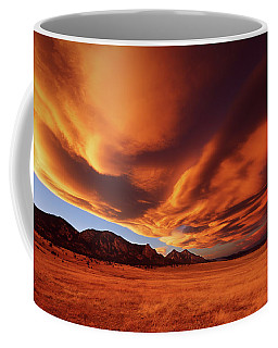 Brilliance Over Boulder Coffee Mug