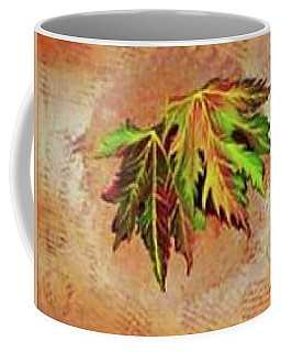 Brilliant Is The Color Of Autumn  Coffee Mug by Talisa Hartley