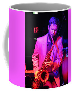 Coffee Mug featuring the photograph Bring Them .blues by Aaron Martens