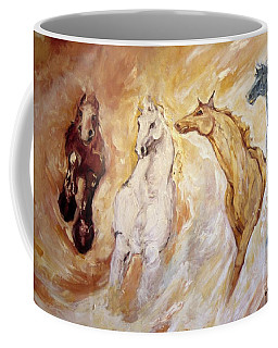 Bringers Of The Dawn Section Of Mural Coffee Mug