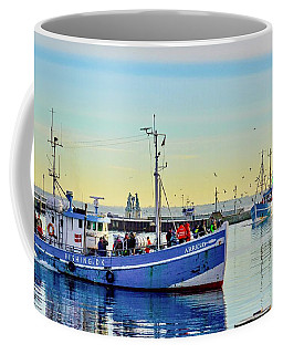 Bringing In The Day's Catch Coffee Mug