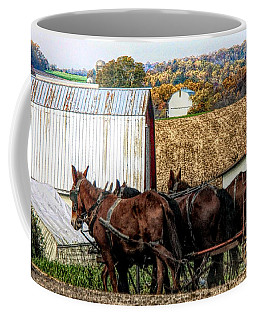 Bringing It Home In Lancaster County, Pennsylvania Coffee Mug