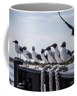Bringing Up The Rear Coffee Mug by Phil Mancuso