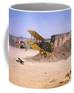Coffee Mug featuring the photograph Bristol Fighter - Aden Protectorate  by Pat Speirs