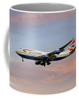 British Airways Boeing 747-436 Coffee Mug