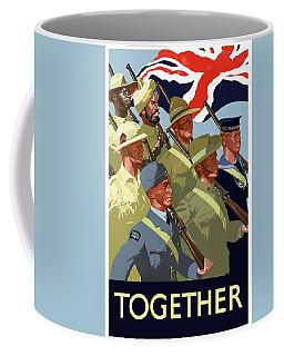 British Empire Soldiers Together Coffee Mug