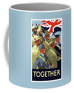 British Empire Soldiers Together Coffee Mug
