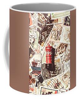 British Post Box Coffee Mug