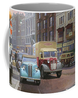 British Railways Austin K2 Coffee Mug by Mike  Jeffries
