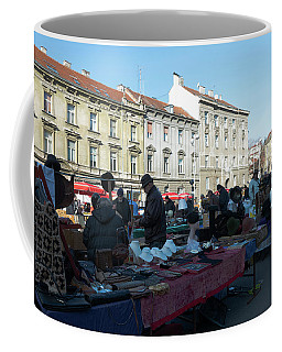 British Square Zagreb Coffee Mug by Steven Richman