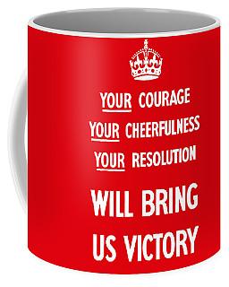 British Ww2 Propaganda Coffee Mug