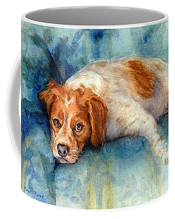 Coffee Mug featuring the painting Brittany by Bonnie Rinier