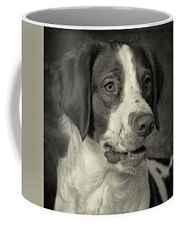 Brittany In Black And White Coffee Mug