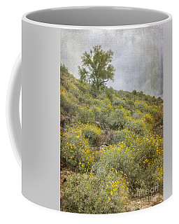 Brittlebush Wildflowers Coffee Mug by Tamara Becker