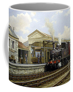 Brixham Station 1950. Coffee Mug
