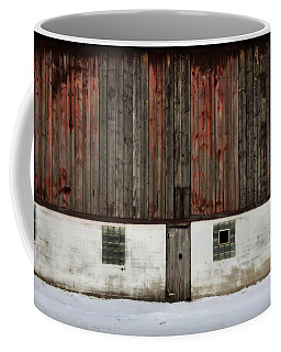 Coffee Mug featuring the photograph Broad Side Of A Barn by Julie Hamilton