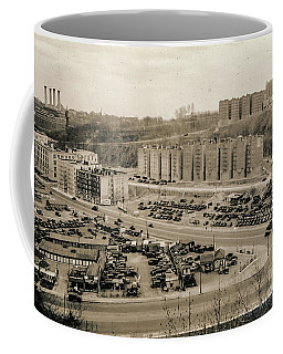 Coffee Mug featuring the photograph Broadway And Nagle Ave 1936 by Cole Thompson