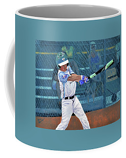 Brock At Bat Coffee Mug