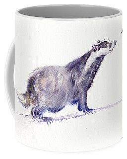 Brock The Badger Coffee Mug