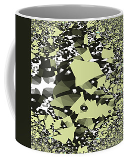 Broken Abstract Coffee Mug by Jessica Wright
