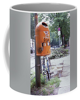 Broken Bike In Berlin Coffee Mug