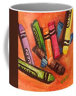 Broken Crayons Coffee Mug