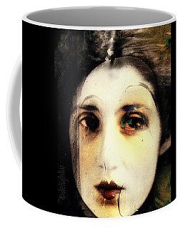 Coffee Mug featuring the digital art Broken by Delight Worthyn