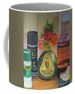 Broken Egg Tableart Coffee Mug