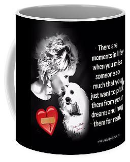 Coffee Mug featuring the digital art Broken Heart by Kathy Tarochione