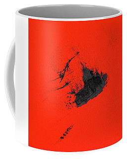 Coffee Mug featuring the painting Broken Heart by Michael Lucarelli