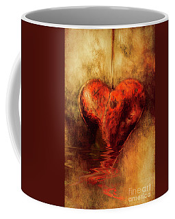 Broken Hearted Coffee Mug