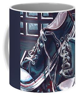Broken-in Converse Coffee Mug