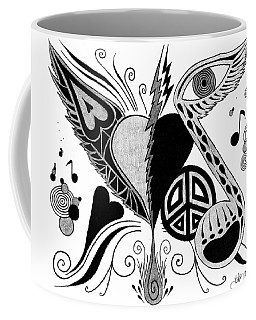 Broken Open Coffee Mug