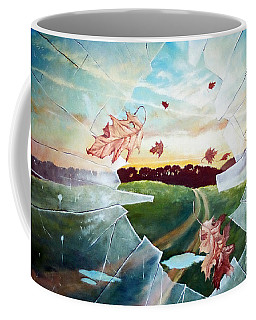 Broken Pane Coffee Mug