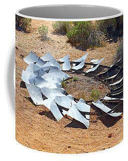 Broken Wheel Of Fortune Coffee Mug