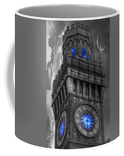 Bromo Seltzer Tower Baltimore - Blue  Coffee Mug