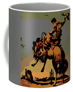Bronc Rider Coffee Mug