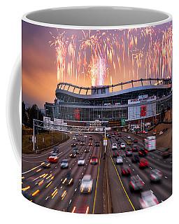 Broncos Win Afc Championship Game 2016 Coffee Mug