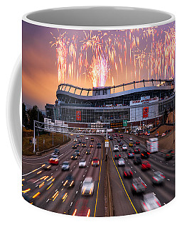 Broncos Win Afc Championship Game 2016 Coffee Mug