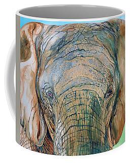 Bronze Elephant Coffee Mug by Raymond Perez