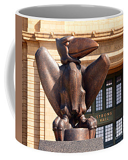 Bronze Jayhawk Coffee Mug by Catherine Sherman