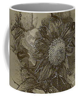 Bronzed Out Sunflower Coffee Mug