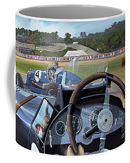 Brooklands From The Hot Seat  Coffee Mug