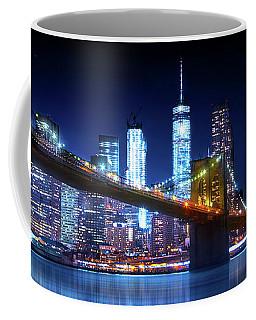 Brooklyn Blue Coffee Mug by Mark Andrew Thomas