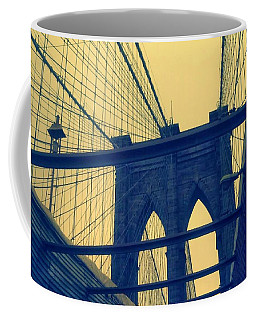 New York City's Famous Brooklyn Bridge Coffee Mug