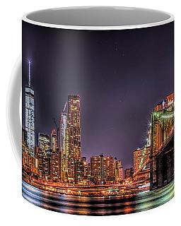 Brooklyn Bridge Park Nights Coffee Mug