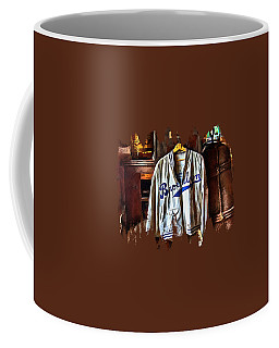 Coffee Mug featuring the photograph Brooklyn Dodgers Baseball  by Thom Zehrfeld