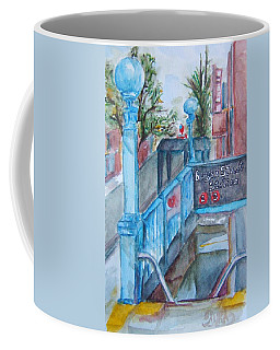 Brooklyn Subway Stop Coffee Mug