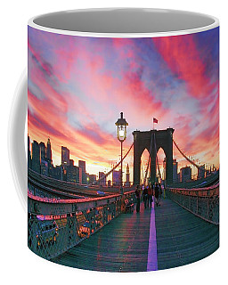 Brooklyn Sunset Coffee Mug